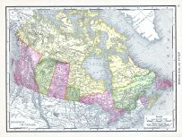 Dominion of Canada, World Atlas 1913